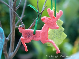 How to make Playdough Christmas Ornaments