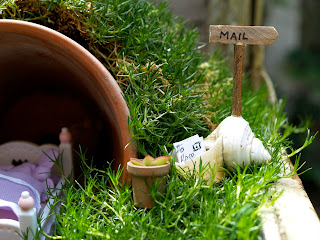 Snail Mail :: Mailbox For Your Fairy Garden