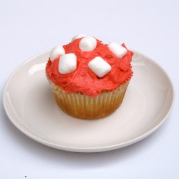 Toadstool Cupcake Recipe