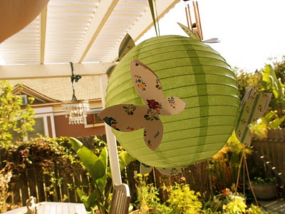 Make Butterfly Lanterns