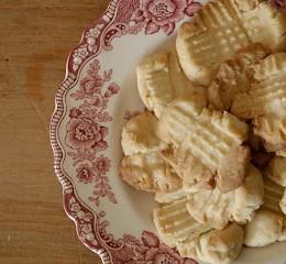 Recipie for Scottish Shortbread Cookies.