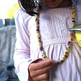 Let's make a Harvest Corn Necklace.