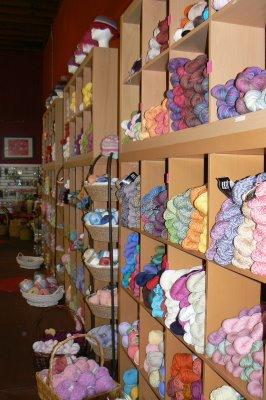A Yarn Shop for Elves.