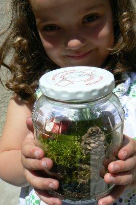 Moss Garden in a Jar.