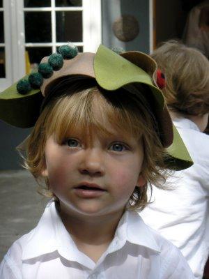 Mr T's Flower Festival Hat.