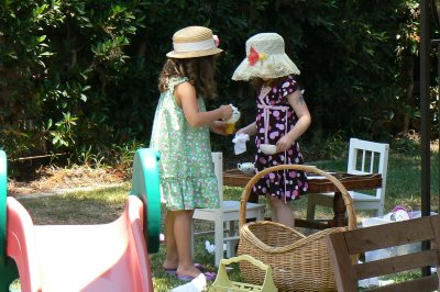 A Royal Tea Party.