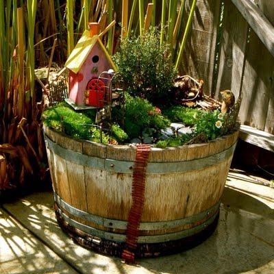Make a Fairy Garden.