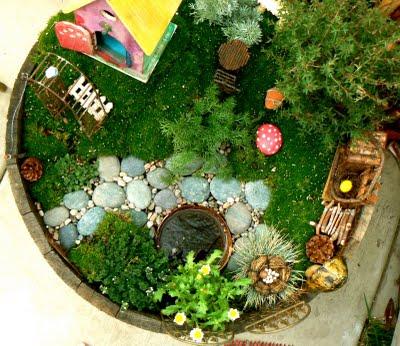 Magic in our Fairy Garden