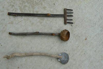 miniature tools for our miniature zen garden