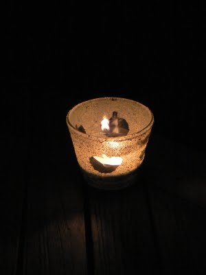 Our super cute Halloween votive candle