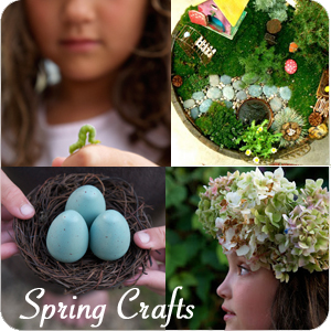 Spring Crafts | The Magic Onions