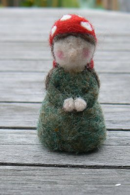 Little Toadstool Gnome