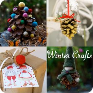 Winter Crafts   The Magic Onions