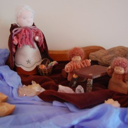 Discovering Waldorf – 'The Nature Table'.