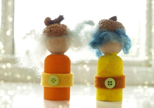 Make an Autumn Gnomes : www.theMagicOnions.com