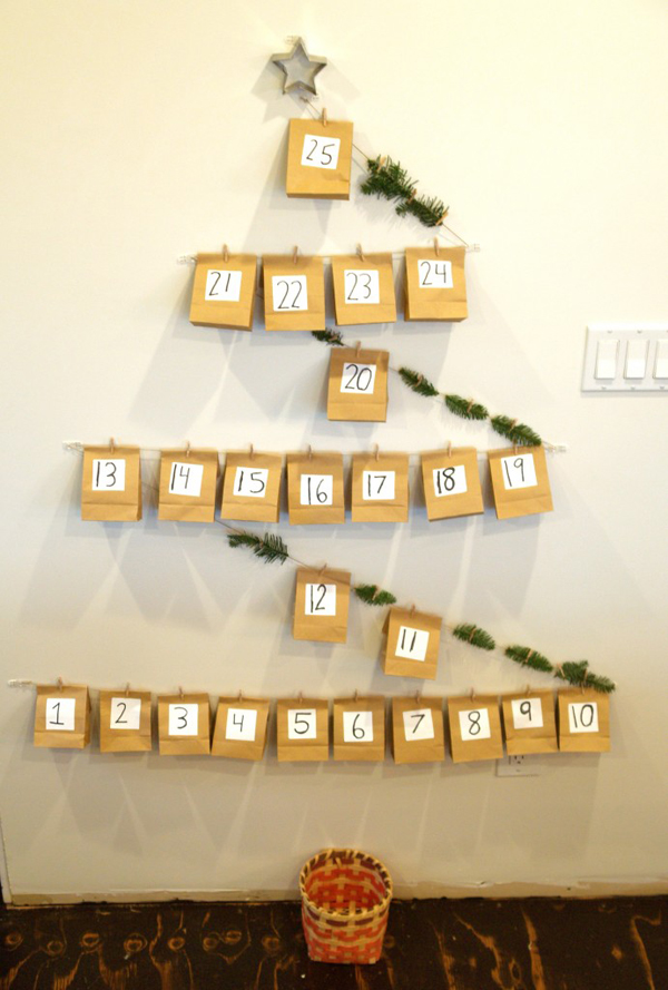 DIY Christmas Advent Callendar : www.theMagicOnions.com