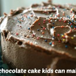 Kid-friendly Chocolate Cake Recipe