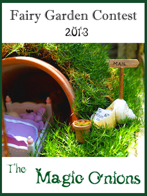Fairy Garden Contest 2013 on The Magic Onions