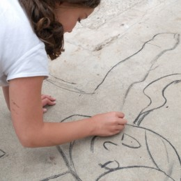 Drawing With Charcoal