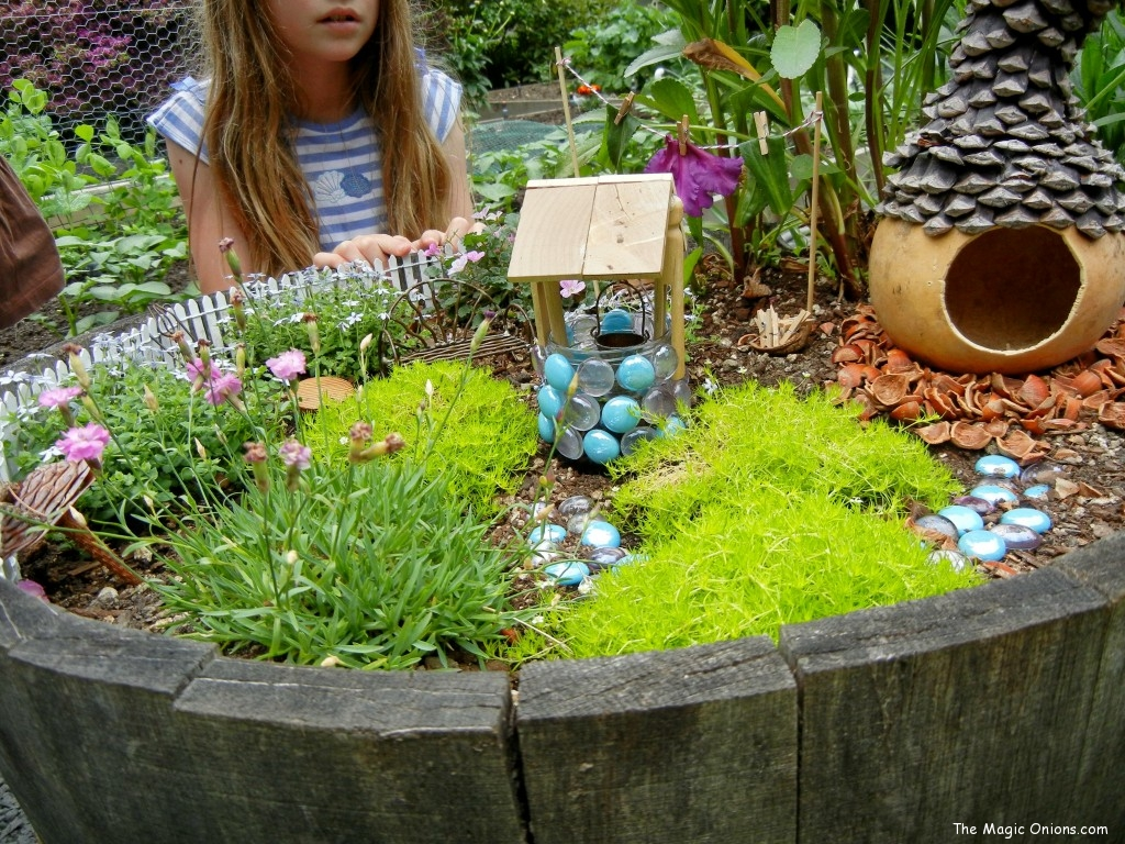 Fairy Gardens on The Magic Onions - www.theMagicOnions
