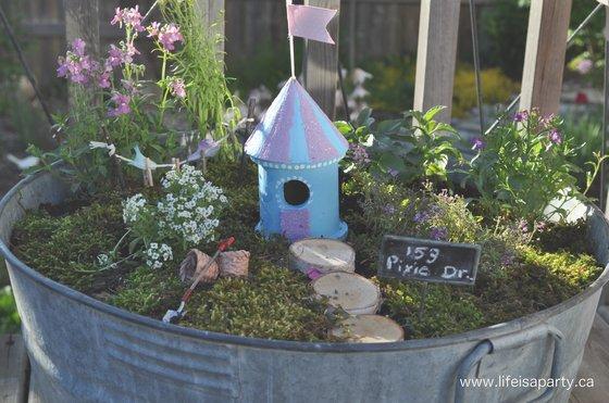 Fairy Gardens on The Magic Onions :: www.theMagicOnions.com