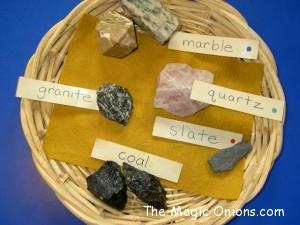 Exploring Rocks with children