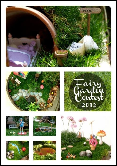 Fairy Garden Contest :: www.theMagicOnions.com