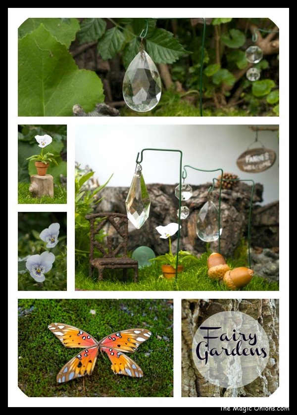 Suncatchers in the Fairy Garden