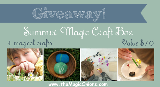 Giveaway - Summer Magic Craft Box - www.theMagicOnions.com