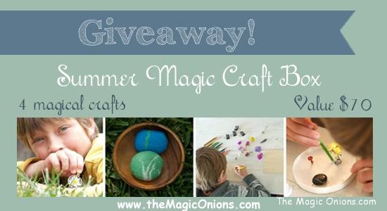 Magic Onions Giveaway - Summer Magic Craft Box - www.theMagicOnions.com