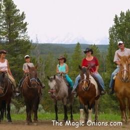 Horseback Riding in the Grand Tetons