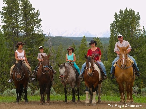 Horseback Riding in the Grand Tetons
