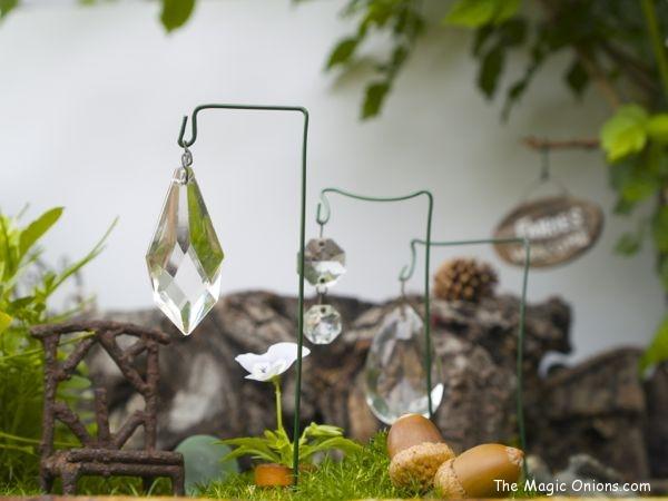 Fairy Garden Suncatcher - www.theMagicOnions.com