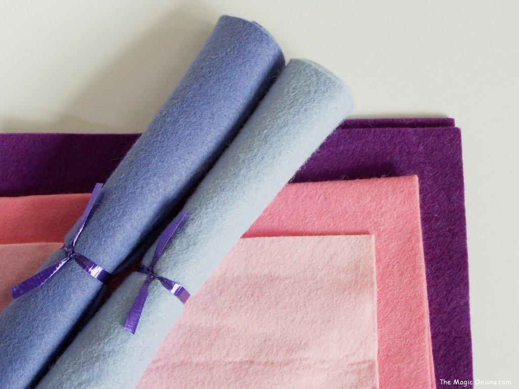 Crafting with Natural Materials - Wool Felt - Discovering Waldorf :: www.theMagic Onions.com