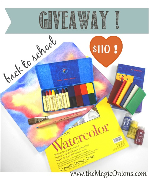 Back To School Giveaway – $110 !
