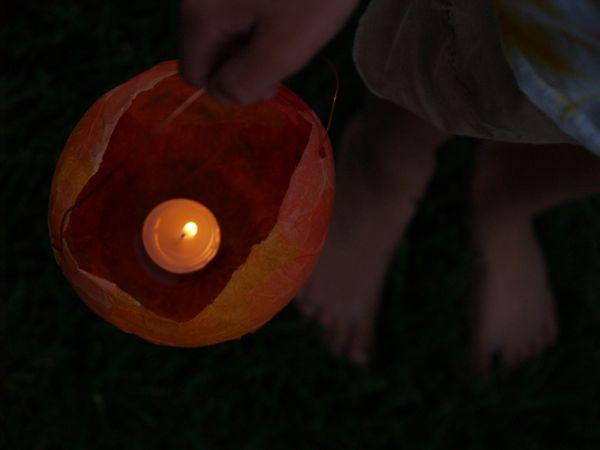 Autumn Magic Craft Box : Lantern : www.theMagicOnions.com