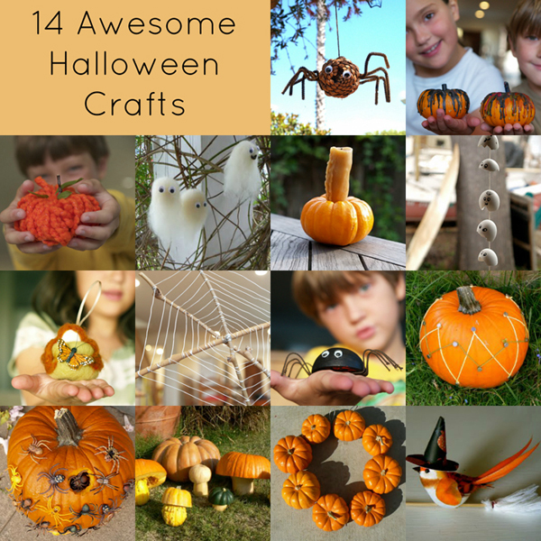 14 Awesome Halloween Crafts : www.theMagicOnions.com