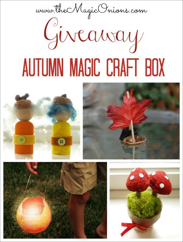 Autumn Magic Craft Box : www.theMagicOnions.com