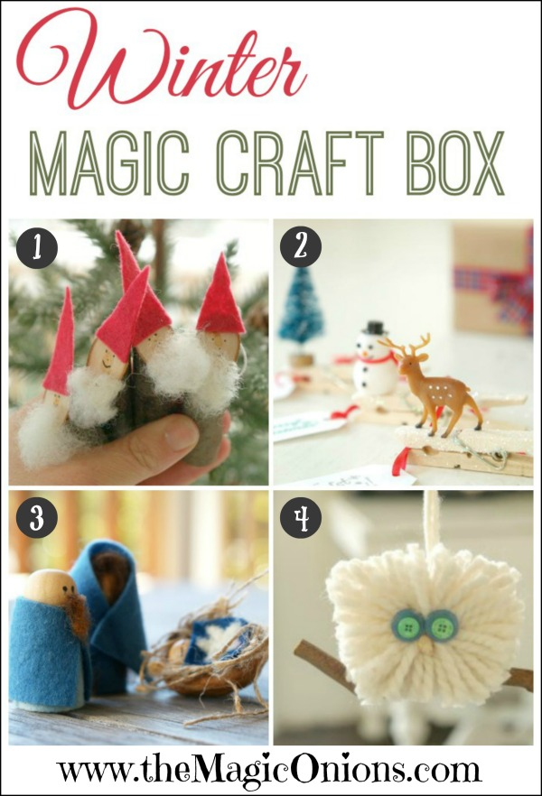 Winter Magic Craft Boxes Avaliable Now!