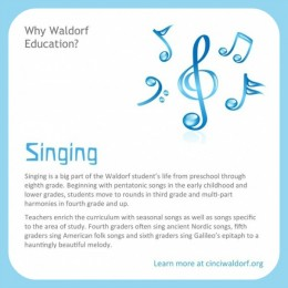 Singing in Waldorf Education : Discovering Waldorf Education : www.theMagicOnions.com