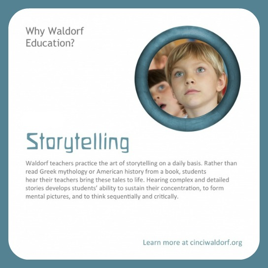 Storytelling : Discovering Waldorf Education : www.theMagicOnions.com