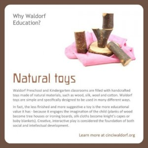 Natural Toys : Discovering Waldorf Education : www.theMagicOnions.com