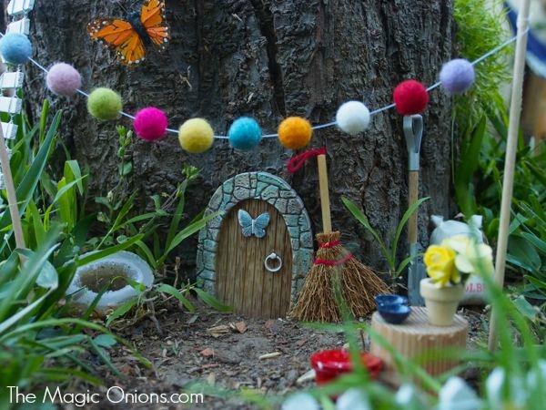 Fairy Garden Gnome Home : www.theMagicOnions.com