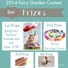 Prizes : Fairy Garden Contest 2014