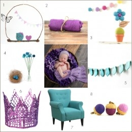 Nursery Inspiration : French Lavender and Robins Egg Blue