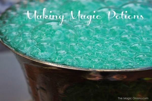 Making Magic Potions - The Magic Onions