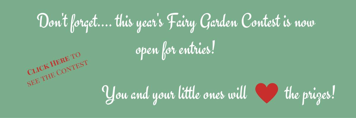 Enter the 2016 Fairy Garden Contest on FairyGardens.com