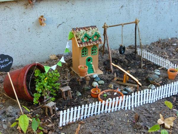Fairy Garden : The Magic Onions : www.theMagicOnions.com