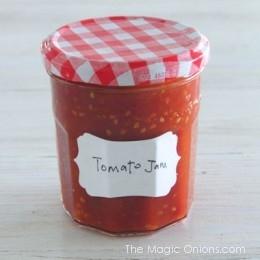 Super Simple Tomato Jam Recipe