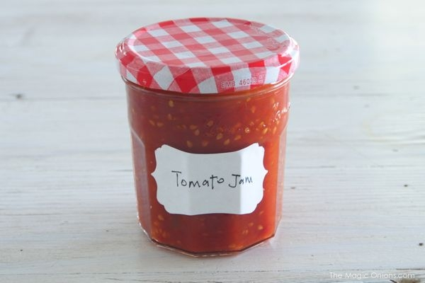 Super Simple Tomato Jam Recipe